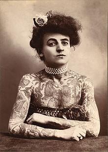 Maud Wagner Tattoo Artist